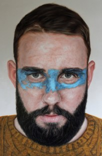 'Luke' by Kyle Barnes at the Chimera Gallery, Mullingar, Co Westmeath, Ireland