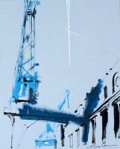 'Maritime Crane IV'  by Helen Shulkin
