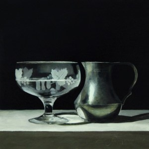 'Pewter and Glass' by Andrew Thompson