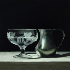 'Pewter and Glass' by Andrew Thompson at the Chimera Gallery, Mullingar Co Westmeath, Ireland