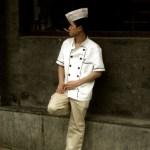 Beijing - Houhai - young cook