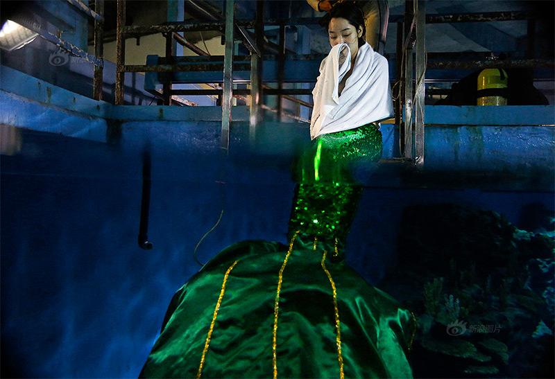 mermaid of Wuhan
