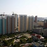 A general view shows the largely empty New Zone urban development in Dandong, Liaoning province, China September 11, 2016. REUTERS/Thomas Peter