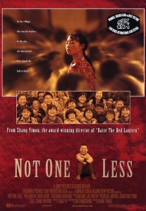 """Poster for the movie """"Not One Less"""""""