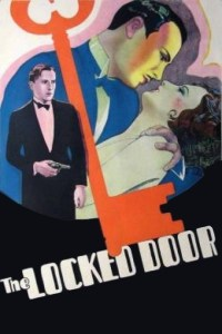 """Poster for the movie """"The Locked Door"""""""