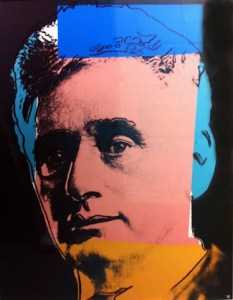 Portrait of Louis Brandeis by Andy Warhol.