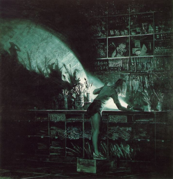 The Bricoleur's Daughter by Mark Tansey