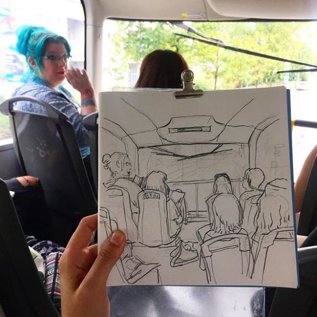 bus M29 by Ana Vigueras