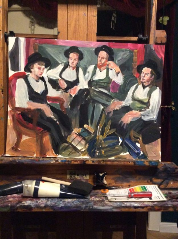 The Walz by Suzanne Forbes WIP CU November 16 2016