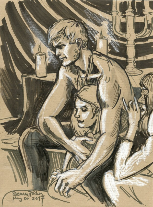 lovers at drink and draw berlin by Suzanne Forbes May 21 2017