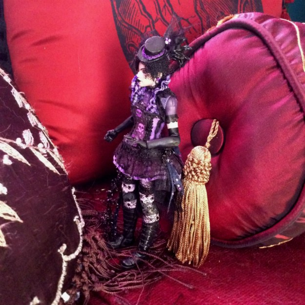 Nico Minoru action figure custom by Suzanne Forbes Sept 2017