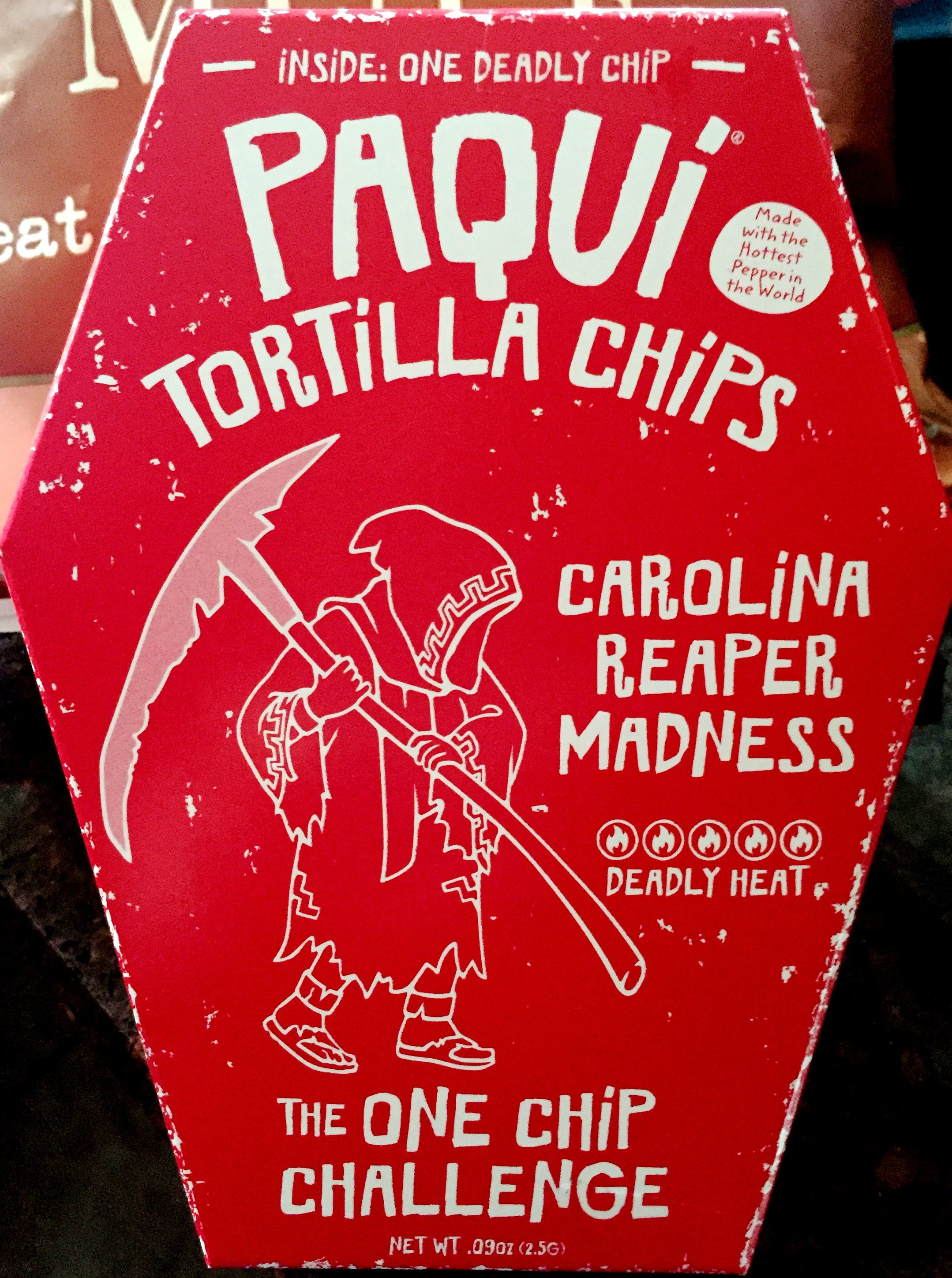 Fullsize Of Carolina Reaper Madness Chip