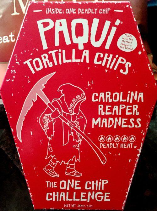 Medium Of Carolina Reaper Madness Chip