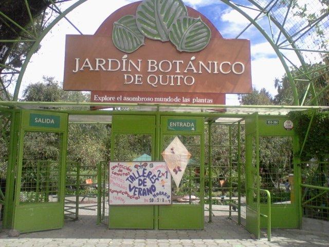 Una excursion al jard n bot nico de quito for Jardin botanico contacto