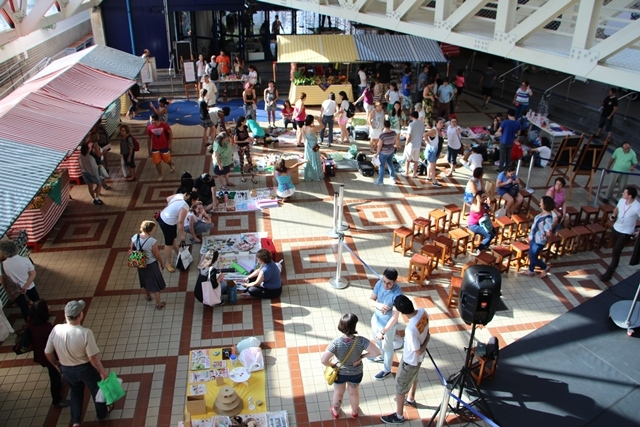Feira de Economia Solidária no Sesc Vila Mariana