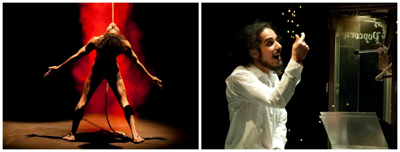 O dançarino do deserto Afshin Ghaffarian se apresenta no Sesc Vila Mariana