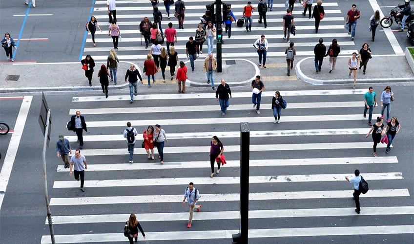 Dicas de segurança para pedestres