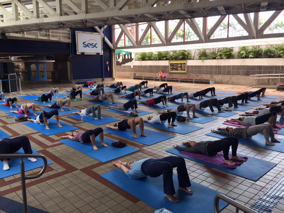 Sesc Vila Mariana oferece prática gratuita de Yoga e Meditação