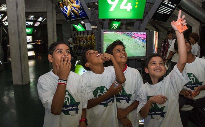 Dia das crianças - Museu do Futebol