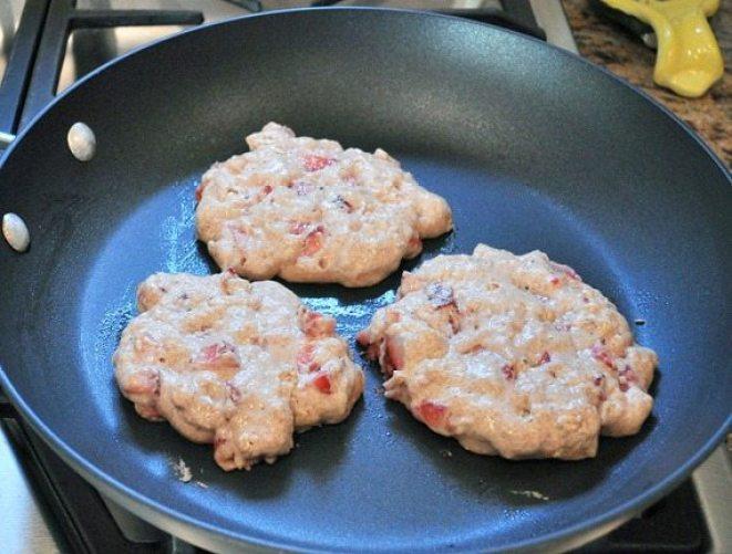 sberry pancakes