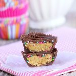Cake Batter Peanut Butter Cups