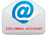 edu email account