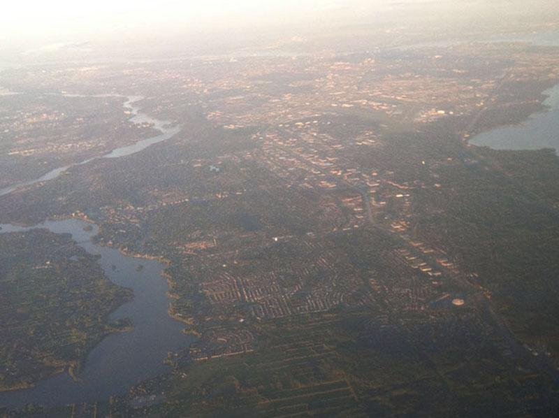 Leaving Montreal