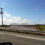 Muddy waters under the bridge