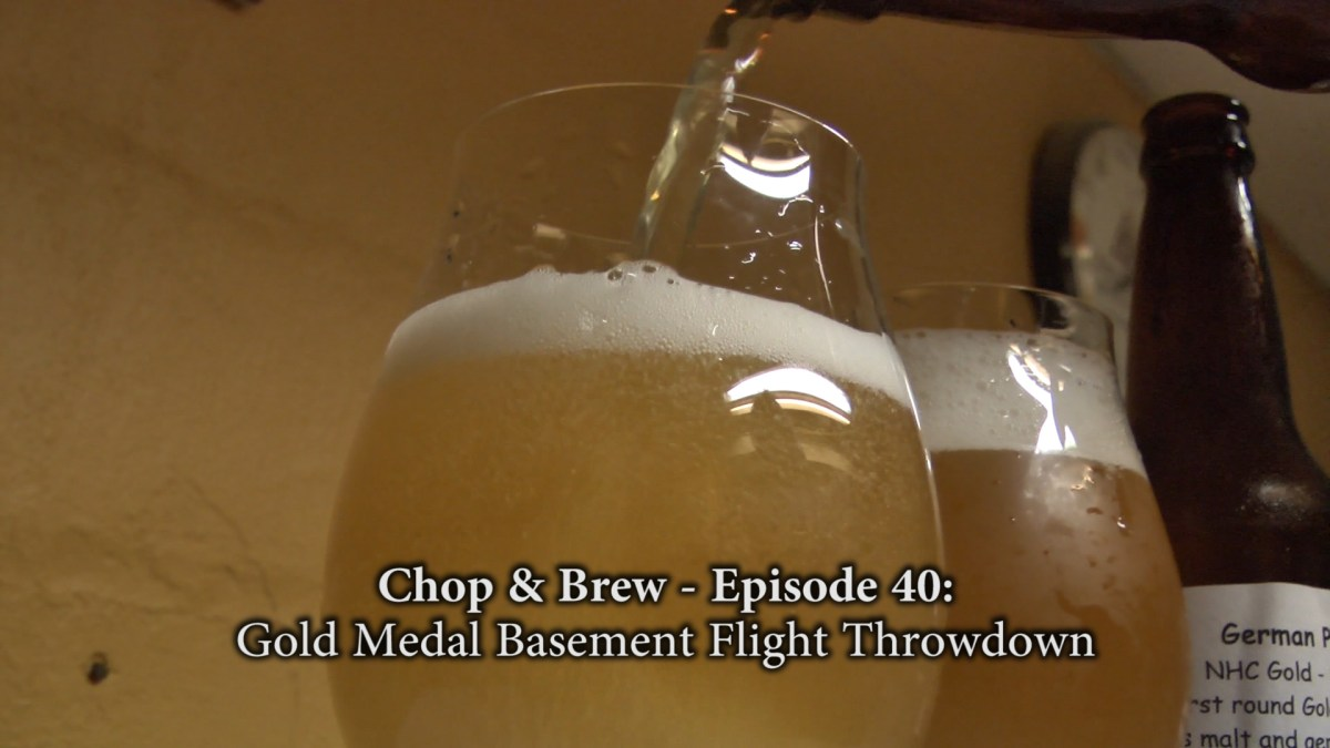 Gold Medal Basement Flight Throwdown Homebrew Recipes