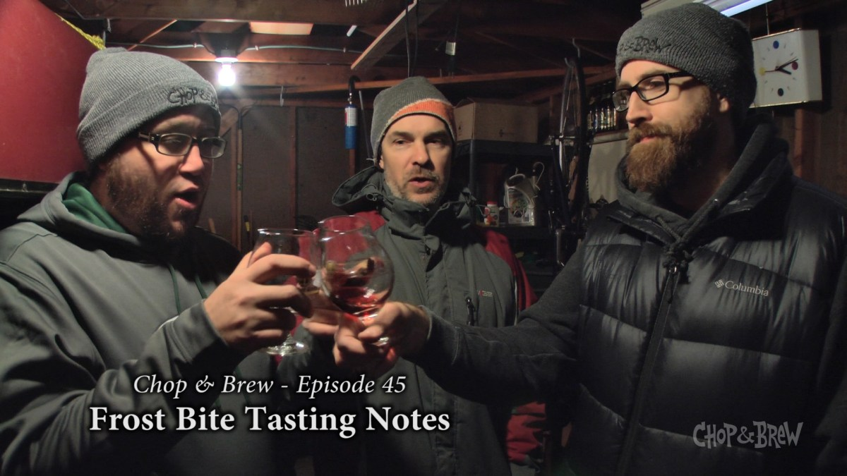 Frost Bite Tasting Notes Homebrew & Mead Recipes