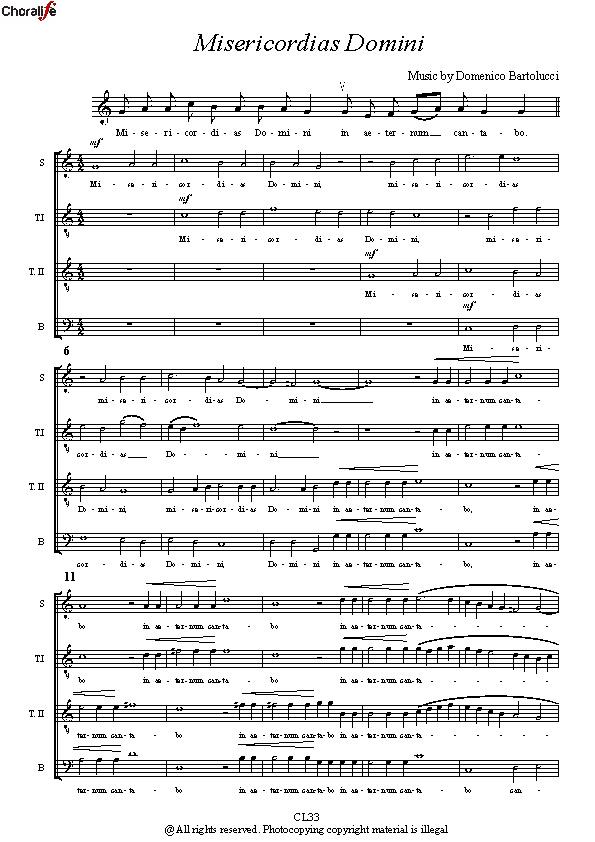 Preview Misericordias Domini_STTB Choir_Bartolucci
