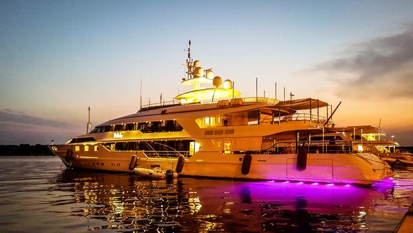 Yacht in Sibenik