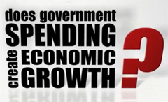 Government Spending Does Not Create Economic Growth