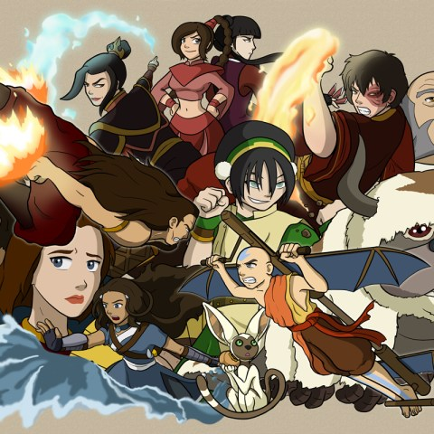 Avatar - Cast Collage F