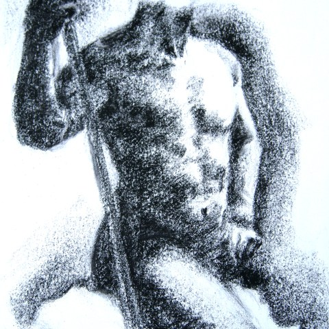 Figure Drawing - Male Nude F