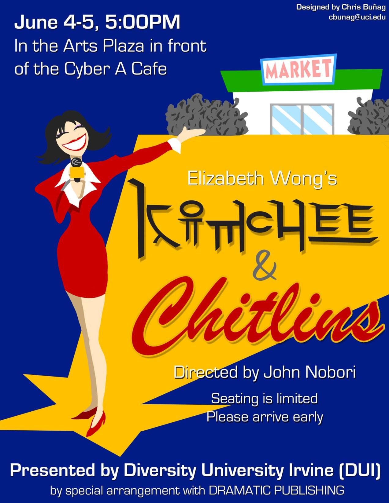 Kimchee & Chitlins - Flier