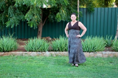 Plus Size Maxi Dress No 3