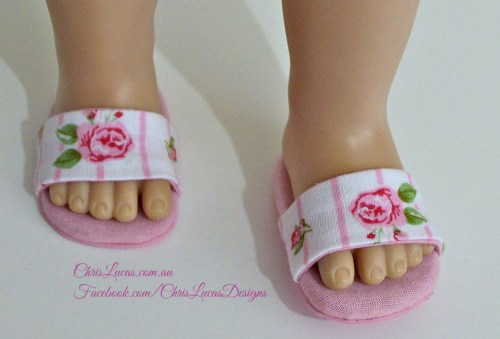 AG Doll Slippers - Chris Lucas Designs