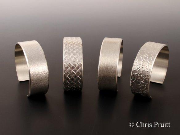 14-Sterling bracelets