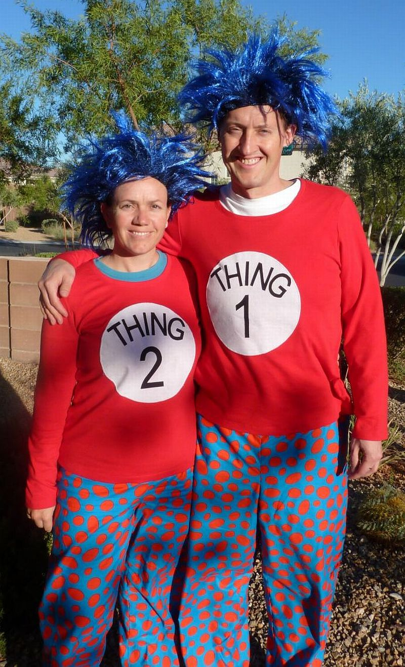 Fullsize Of Thing One And Thing Two Costumes