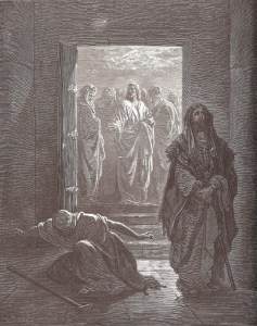 Dore, The Pharisee and the Publican