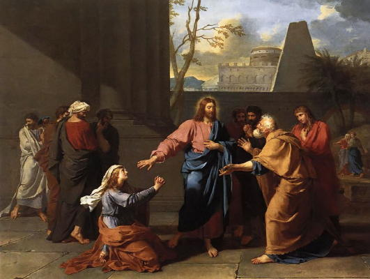 Drouais, Christ and the Canaanite Woman