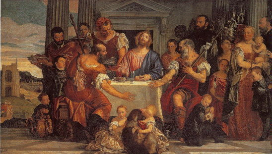 Paolo Veronese, Supper at Emmaus