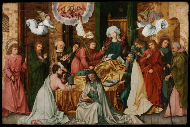 Holbein the Elder, Dormition (1490)