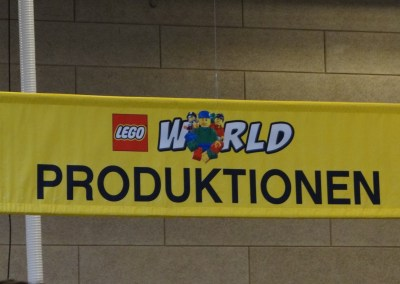 """Produktionen"" (production) @ LEGO World"