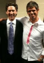 Steven Furtick and Joel Osteel