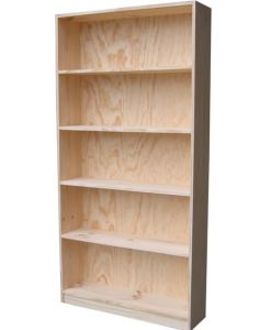 6x3 Budget Bookcase Raw
