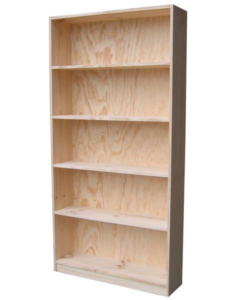 6×3 Budget Bookcase Raw