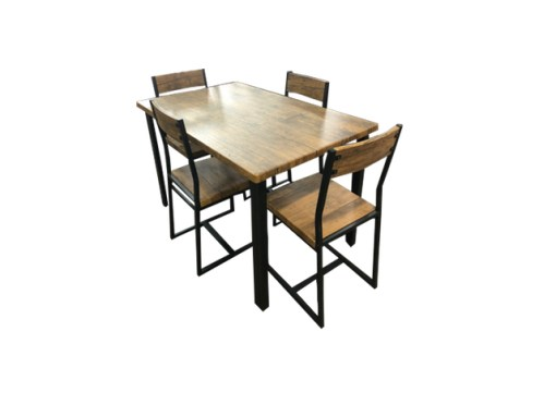 5 Pce Ironside Dining Setting