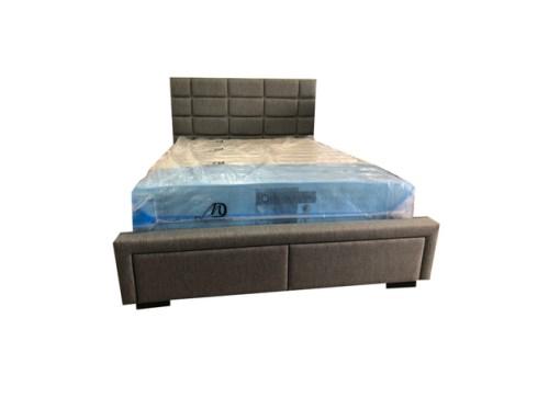 Double Adele Fabric Bed